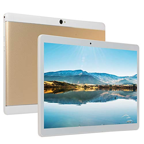 ZYING Tableta Android de 10 Pulgadas,Tarjeta SIM Dual,1 GB RAM + 16 GB ROM Ampliable a 64 GB,procesador de Ocho Núcleos,Bluetooth,GPS,WiFi,Cámaras Duales,Tablet PC Ultraportátil