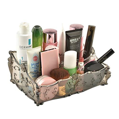 Caja de Almacenamiento cosmética Transparente de Hogares de