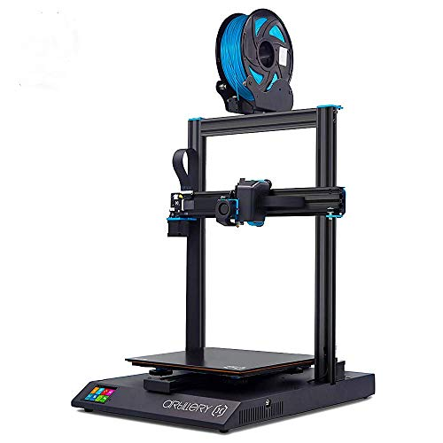 Artillery Sidewinder X1 3D Printer with Dual Z Axis Ultra-Quiet Printing, 0.4mm Direct Drive Extruder, Filament Runout Detection and Recovery
