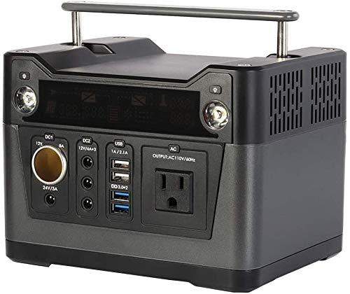 Generatore di corrente Generatore Portatile Generatore di energia portatile 280Wh Power Power Station Power alimentazione batteria al litio 220V-240V, torce a LED per campeggio da viaggio CPAP Emergen