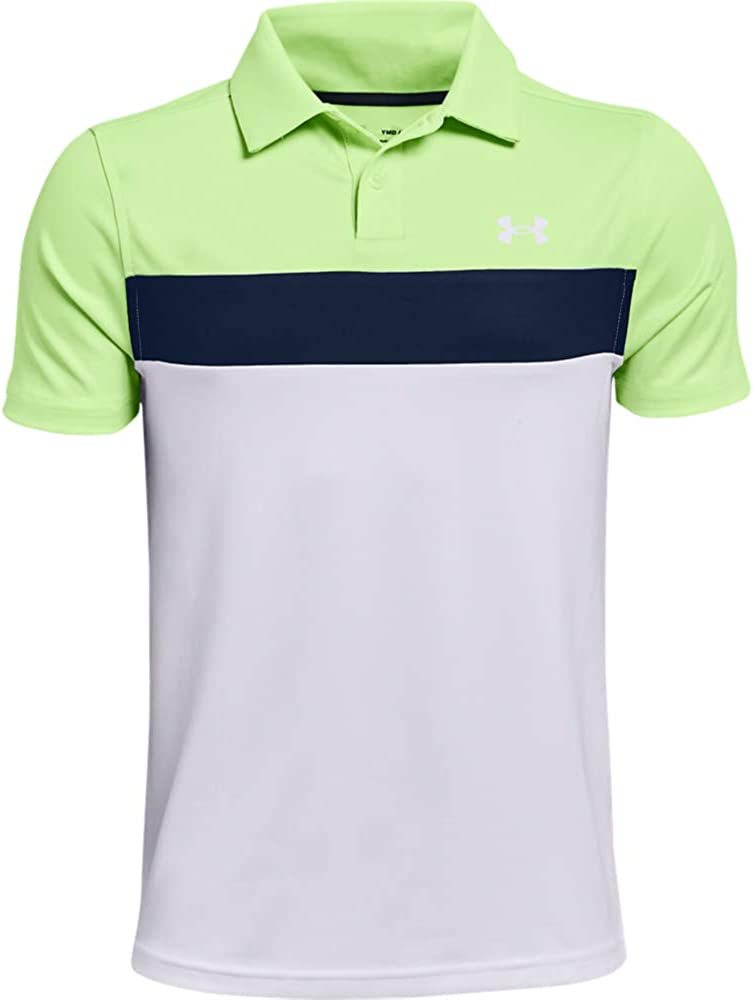 Under Armour Boys' Manufacturer regenerated product Performance Golf Blocked Ranking TOP12 Polo