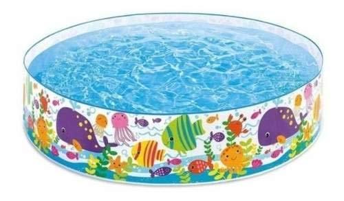 Piscina Infantil 1000 Litros Oceano Intex 56452