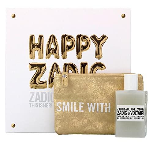 Zadig & Voltaire, Agua de perfume para mujeres - 50 ml.