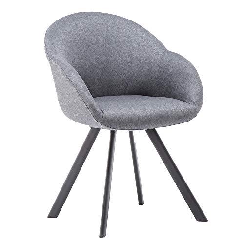 Movian Arno – Silla de comedor, gris oscuro
