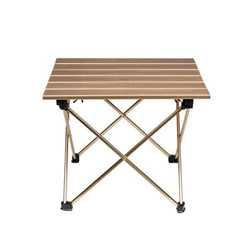 RJJX RJJX Home Klapptisch im Freien beweglichen Klapptisch Ultra-Portable Aluminium-Klapptisch Camping Tisch Picknick-Tisch