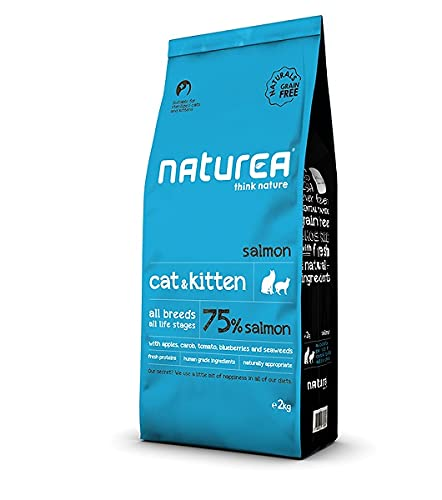 NATUREA Naturals Cat&Kitten Salmon 7KGS 🔥