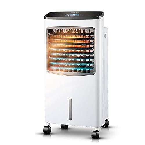 Air Cooler SYLJ Mobile Klimaanlage Zum KüHlen Und Heizen, Drei-In-1-Luftbefeuchter KüHler Und LüFter, Led-Echtzeitanzeige Und Timing-Funktion