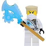 LEGO Ninjago - Mini personaggio Zane (Techno Robe) – Rebooted con lama Techno