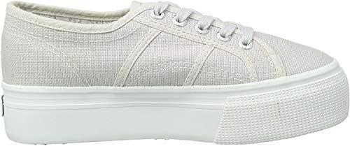 Superga 2790 Linea Updown Flatform Damen Sneaker,Grau (grey seashell) ,40 EU