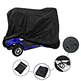 ConPus Wheelchair Waterproof Storage Cover, Mobility Scooter Storage Cover, Lightweight Rain Protector from Dust Dirt Snow Rain Sun Rays - 55 x 26 x 36 inch (L x W x H)