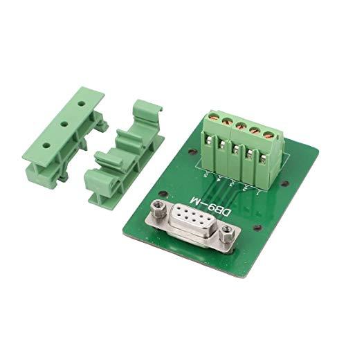 New Lon0167 DB9 9 pines hembra Adaptador Placa RS232 Serie a Terminal Terminal Módulo(DB9-9-polige Buchse Adapterplatte RS232 seriell zum Klemmensignalmodul