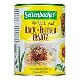 3 x 400 g Seitenbacher Veganer carne picada de repuesto, carne picada de carne de núcleo verde, vegetariano