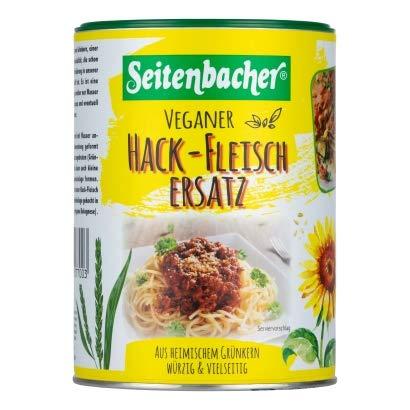 3x 400g Seitenbacher Veganer Hackfleisch-Ersatz Hackfleisch aus Grünkern Vegetarisch
