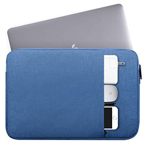 wasserdichte Laptophülle für MacBook Air, MacBook Pro, Acer, Asus, Lenovo, HP, Toshiba, Sony, Samsung, LG, Dell, MSI GL62M, 15,6 Zoll (39,6 cm) Chromebook Blau blau 17-17.3 Inch