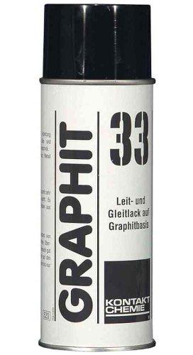 KONTAKT CHEMIE GRAPHIT 33 Grafit-Leitlack, 400 ml VE = 1