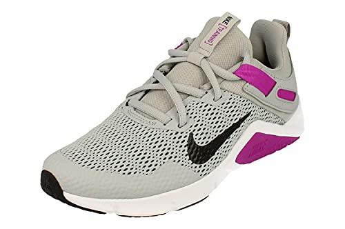 Nike Donne Legend Essential Running Trainers CD0212 Sneakers Scarpe (UK 4.5 US 7 EU 38, Light Smoke Grey Black 003)