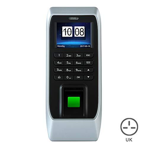 HFeng Kit Sistema Control Acceso IP//TCP 10 piezas 125kHz Keychains Tarjeta 350lbs Cerradura Magn/ética El/éctrica 180KG RS485 RFID Teclado Acceso Control Biom/étrico Fingerprint