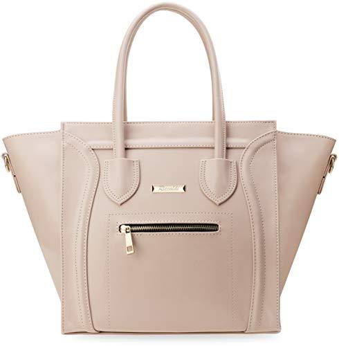 geschmackvoller Handtasche in Trapez – Form Like Damentasche rosa