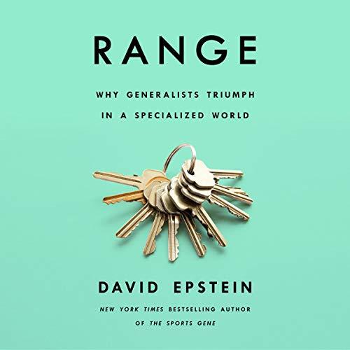 Range audiobook cover art