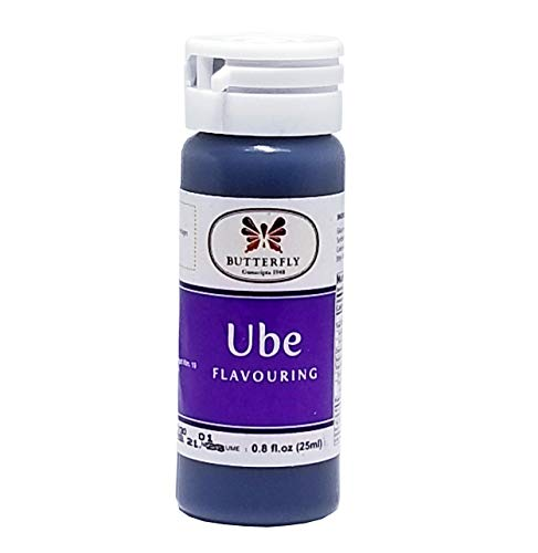 Ube Purple Yam Flavoring Extract by Butterfly 1 Oz.