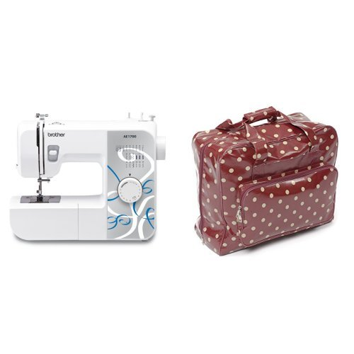 Brother AE1700 Sewing Machine with Instructional DVD, 17 Stitch & Hobby...