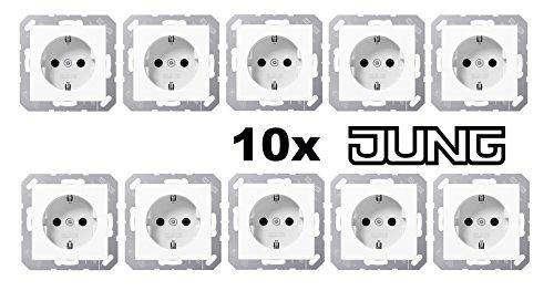 Jung AS 500 Alpinweiß 10er Bild
