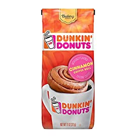 Dunkin Donuts Cinnamon Coffee Roll Flavoured Ground Coffee 311g