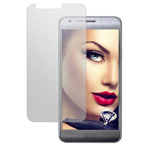 mtb more energy Schutzglas für LG X Cam (K580, 5.2'') - Tempered Glass Protector Schutzfolie Glasfolie