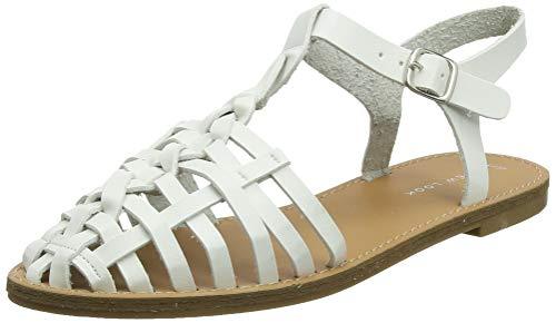 New Look Karlisle, Zapatos de tacón con Punta Cerrada para Mujer, Blanco (White 10), 39 EU