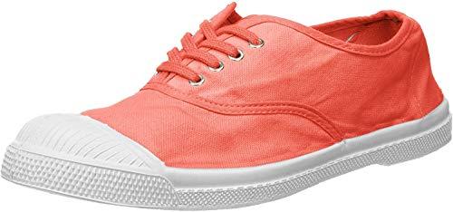 Bensimon Tennis Lacets, Sneaker Donna, Rosa (Pivoine 0404), 37 EU