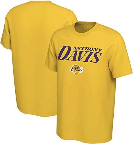 XH-CHEN Jerseys de la NBA, Lakers # 3 Anthony Davis Baloncesto Retro Camiseta de los Hombres, cómodo Casual Baloncesto de formación Superior,A,XXXL:185~190cm