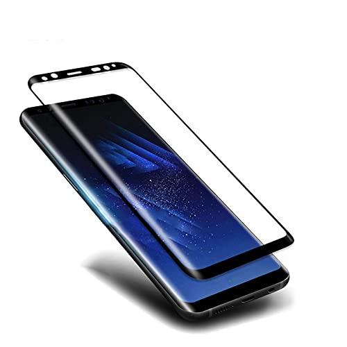 FXDC Cubierta completa de cristal templado curvado para Samsung G-alaxy S9 S8...