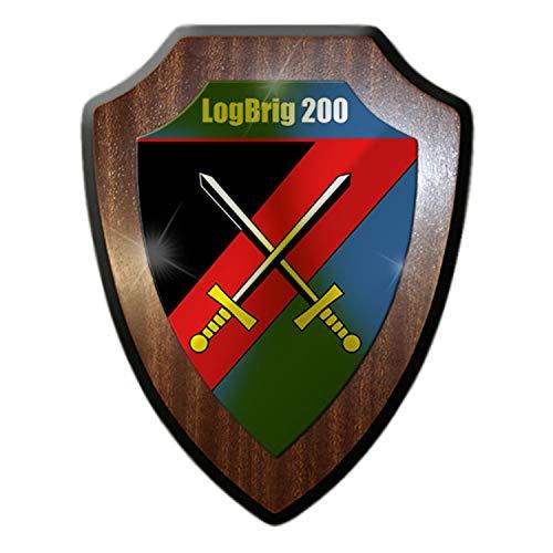 Copytec Wappenschild LogBrig 200 Logistikbrigade B&eswehr Tauberbischofsheim #23315