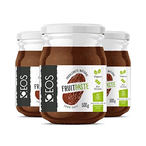 EOS - Pasta de Dátiles 100% PACK 3 X 500g - Endulzante natural vegano