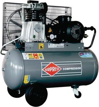 AIRPRESS Druckluft Keilriemen Kompressor | 10bar | 400V | 600l/min | 3KW | HK 600-90 | Profi