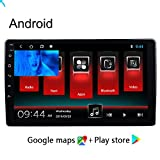 Doris 3D-Navigationskarten Für Auto, Android 8.1 Autoradio Radio Navigationssystem, Bluetooth IPS Panzerglas Bildschirm 2G+32G USB Sd GPS, Lebenslang Kartenupdates Und Verkehrsinfos, Touchdisplay