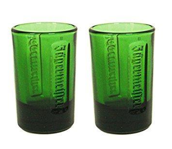 Verde Vaso de chupito Jagermeister 2pk