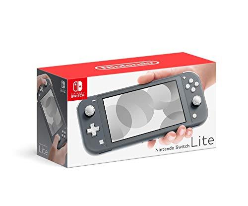Nintendo Switch Lite Hand-Held Gaming Console - Gray (HDH-001) (Renewed)