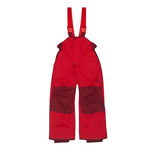 Finkid Toope Persian red Grenadine Wind & wasserdichte Kinder Ski & Outdoor Winterhose
