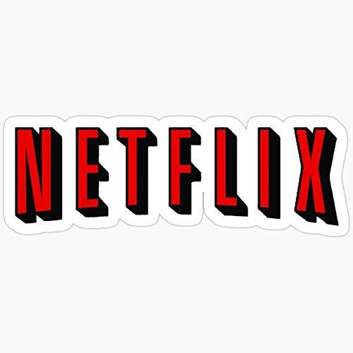 Le lot de 3 autocollants Netflix
