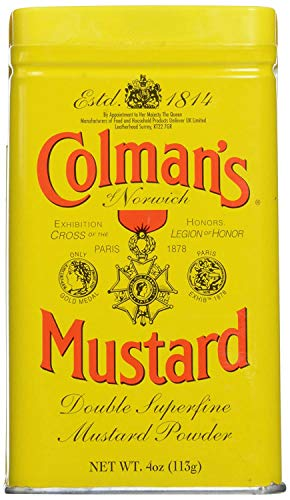 Colman's, Dry Mustard Powder, 4 oz