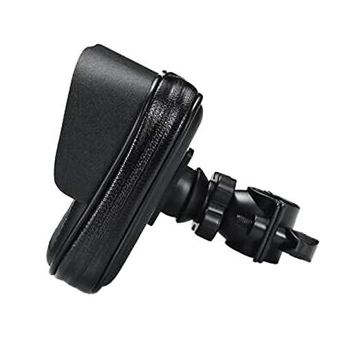 Fransande - Funda de teléfono impermeable para moto, soporte GPS, soporte de manillar, rotación de 360 °