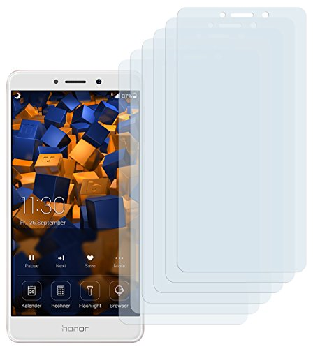 mumbi Schutzfolie kompatibel mit Huawei Honor 6X Folie klar, Bildschirmschutzfolie (6X)