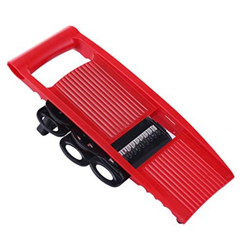 QXM Simple Red Belt 6 Blade multifunctionele snijmachine rechthoekige hoekrasp