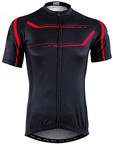 Ropa de ciclismo de verano, maillots de ciclismo para hombre de manga...