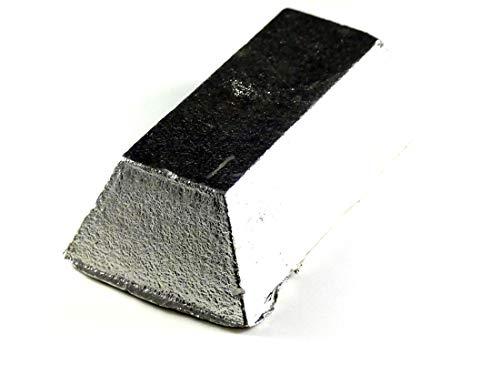 Tin Ingot (2 pounds | 99.9+% Pure) Raw Tin Metal by MS MetalShipper