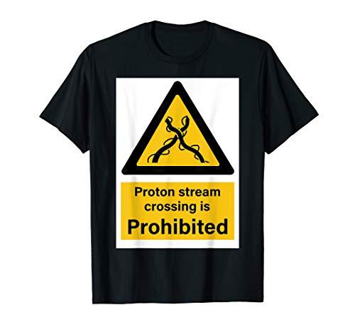 Protonen-Strom-Warnzeichen T-Shirt
