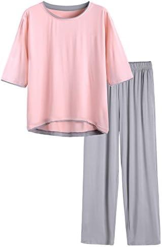 Latuza Women's Half Sleeve Pajama Set