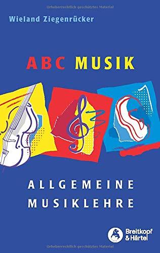 ABC Musik - Allgemeine Musiklehre - Großdruckausgabe (BV 398 ): Allgemeine Musiklehre. 446 Lehr- und Lehrsätze