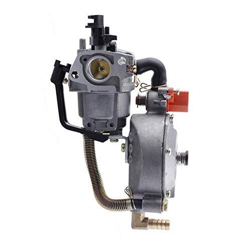 Scooters Carburador Carburador para H&Onda GX160 2KW 168F Bomba Agua Doble Generador Combustible Gasolina Coche Motocicleta Quitanieves Accesorios Motosierra